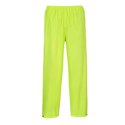 Portwest klassische Regenhose für Erwachsene, normale Passform, Size 3X-Large, gelb, 1