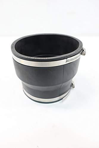 FERNCO 1056-65 Rubber Flexible Pipe Coupling 6 X 5IN