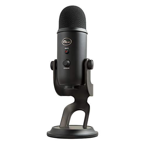 Blue Microphones Yeti USB コンデンサー マイク Blackout Edition イエティ ブラック BM400BK PC MAC PS4 USB ストリーミング 配信 ストリーマー テレワーク web会議 国内正規品 2年間メーカー保証