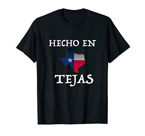 Hecho En Tejas Made in Texas Mexican American Hispanic Shirt
