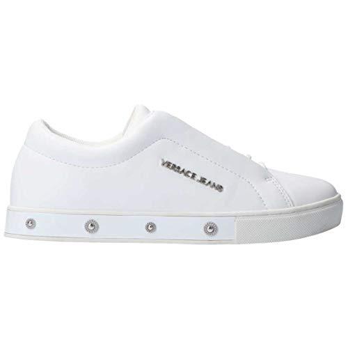 Versace Jeans E0VTBSO4 - Zapatillas para mujer Blanco Size: 40 EU