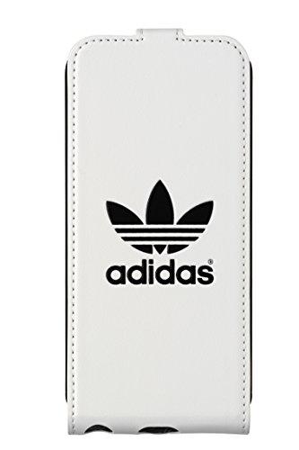 Adidas BXAD15679 - Funda flip con tapa para Apple iPhone 5/5S, Blanco/Negro