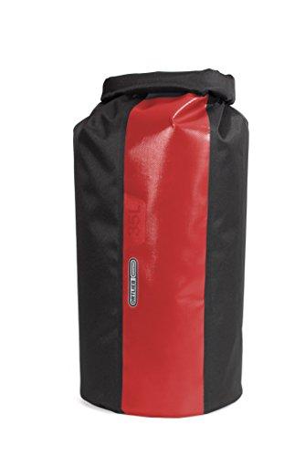 Ortlieb - Bolsa (35 L), Color Negro y Rojo