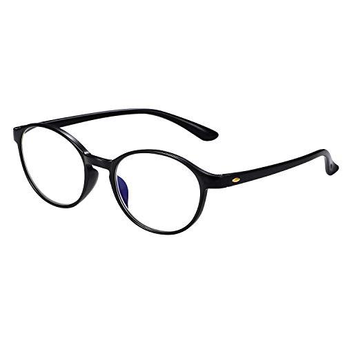 Aroncent Dioptria 3.00 Lesebrille Herren Damen Anti-Licht Blau UV 400 Anti-Müdigkeit Ultraleicht Schwarz