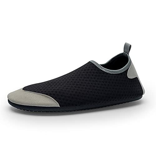 tianxiangjjeu Zapatos de agua unisex para deportes acuáticos de secado rápido para deportes acuáticos de verano Surf Yoga Calcetines negro 2XL