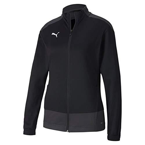 Puma Damen teamGOAL 23 Training Jacket W Trainingsjacke, Black-Asphalt, S