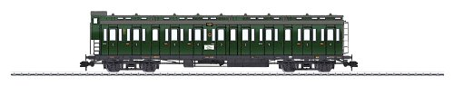 Märklin - 58084 - Modélisme Ferroviaire - Wagon - Voiture Compartiment - Troisième Classe DRG
