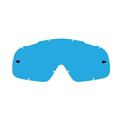 FOX 2016 Motocross / MTB Brille RNR - Total Vision - Erstatzglas - blau raised