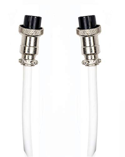 Luxburg® Verlängerungskabel für elektrische Leinwände - 3 Meter weiß