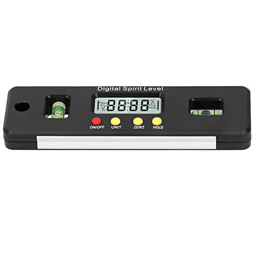 Elektronischer Neigungsmesser mit digitalem Winkelmesser, vertikal + horizontal, doppelt, für die Installation im Haushalt
