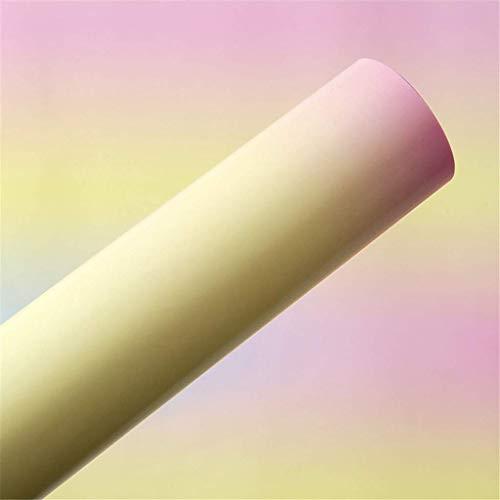 Briefpapier Einwickelpapier Hand Cut Papier, Farb Deckblattpap Weinglas, Geschenkkarton Einwickelpapier Kindertag Notebook Einwickelpapier 19 * 27 Zoll DIY Geschenk-Beutel-Material (Farbe: D, Größe: 5