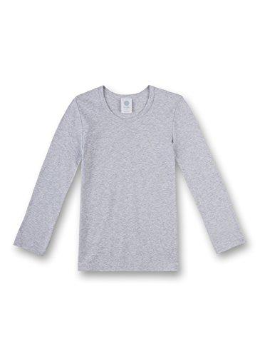 Sanetta Jungen 301500 Unterhemd, Grau (Hellgrau 1646), 140