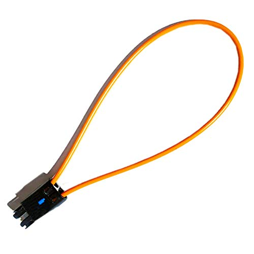 Universal MOST Fiber Optic Optical Loop Bypass Female Adapter for Radio and Audio Compatible with BMW, Mercedes, and VW SOS Fix