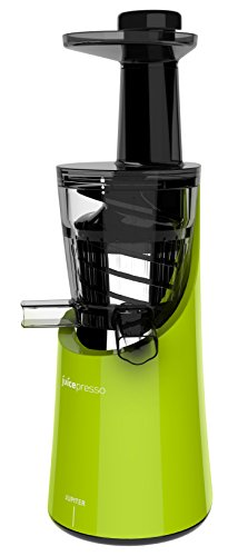 Jupiter 866200 Juicepresso Plus Entsafter Slow Juicer, grün