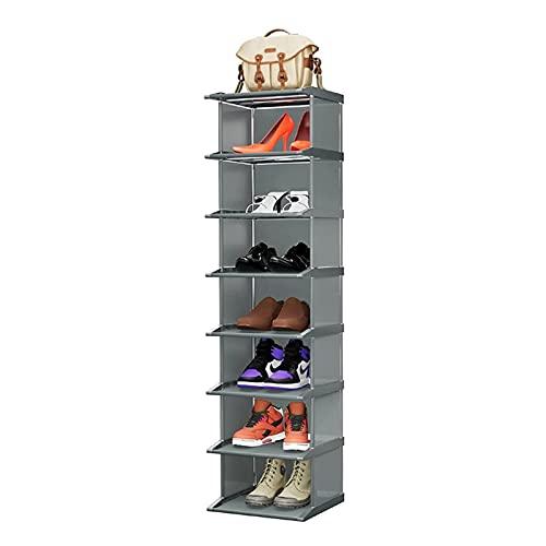 YIXIN2013SHOP Zapatero Zapato de pie Zapatos a Prueba de Polvo Gabinete Simple Montaje de Zapato Organizador Estante de Primera Calidad Closet Closet Holder Cabinete Estante para Zapatos