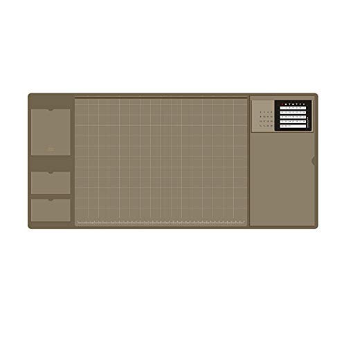 Desk mat, office desk mat, 32.8cm x 70cm PU leather desk pen, laptop desk mat, waterproof desk writing board for business office and home