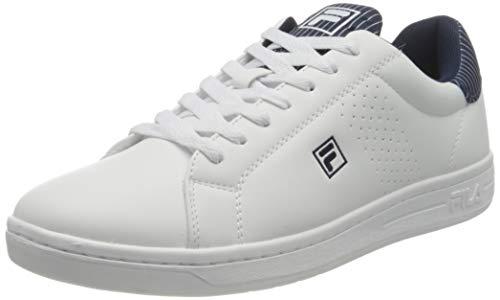 FILA Crosscourt 2 NT men zapatilla Hombre, blanco (White/Fila Navy/White), 40 EU