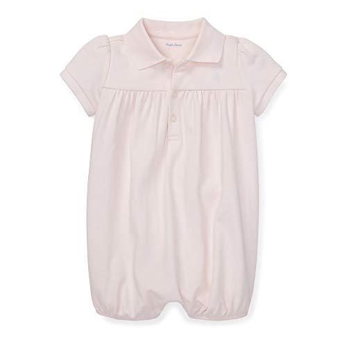 Ralph Lauren Bebé Chica Interlock Bubble Shortall - rosa - 18 meses