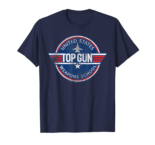 Top Gun United States Weapons School T-shirt, Many Colors, S to 3XL