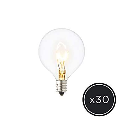 Replacement Bulbs for Classic Globe String Lights