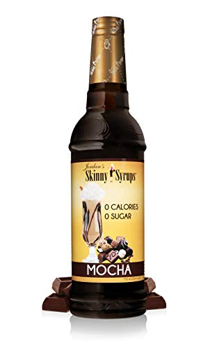 Jordan's Skinny Syrups Mocha, Sugar Free Coffee Flavoring Syrup, 25.4 Ounce Bottle