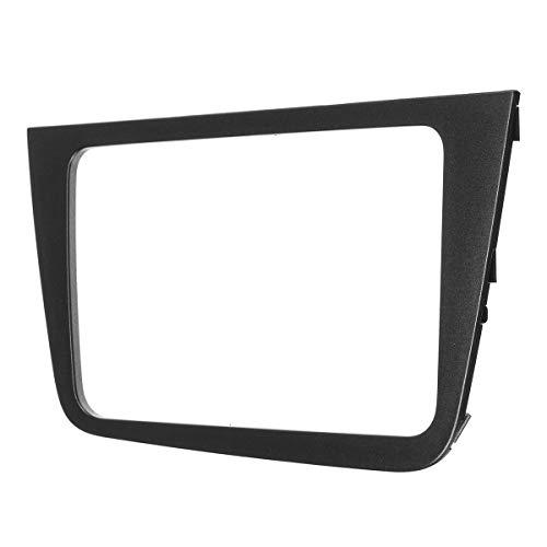RETYLY Black Car Fascia per Seat Altea Lhd Radio Stereo Dash Kit di Montaggio Trim Audio Panel Facia Bezel Cover Adapter