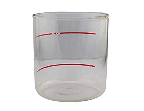 Elitzia accessoires transparent Steamer jar pot de verre vapeur pot pièces de rechange de vapeur faciale