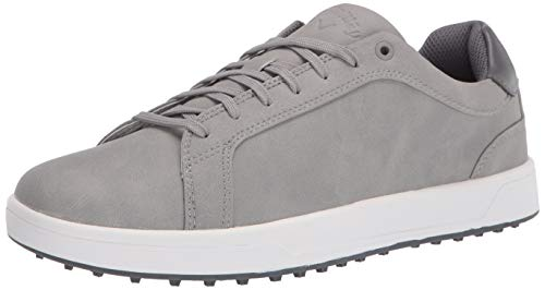 Callaway Men's Del Mar Golf Shoe, Grey, 10 Wide