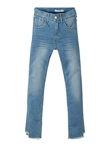 NAME IT Girl Slim Fit Jeans Powerstretch Cropped 158Medium Blue Denim