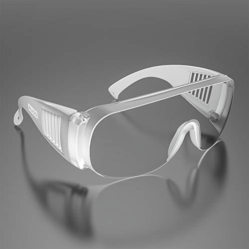 Occhiali Protettivi E Igienici di Sicurezza, Occhiali Per Uomo E Donna a Prova di Polvere a Prova di Vento a Prova di Sabbia a Prova di Spruzzi