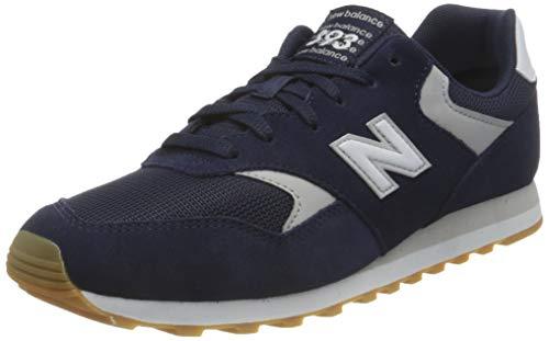 New Balance 393, Zapatillas Hombre, Azul Marino, 42 EU