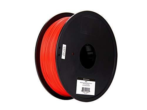Monoprice MP Select PLA Plus + Premium 3D-Filament - Rot, 1 kg/Spule, Dicke 1,75 mm, PLA Plus + ist stärker als gewöhnliches PLA