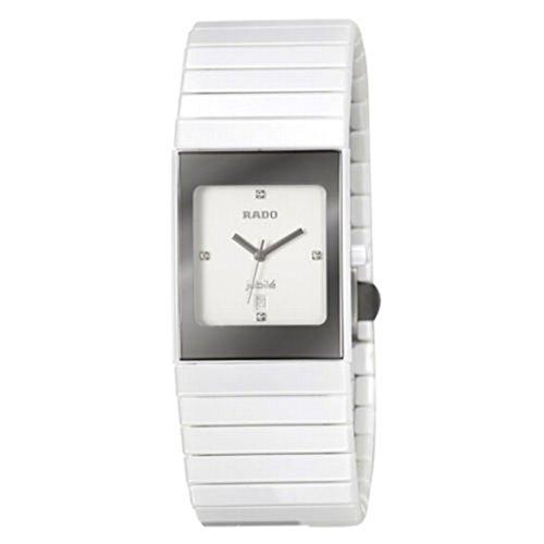 Rado Ceramica Jubile R21982702 - Reloj de Pulsera analógico para Mujer con Cristales y Fecha