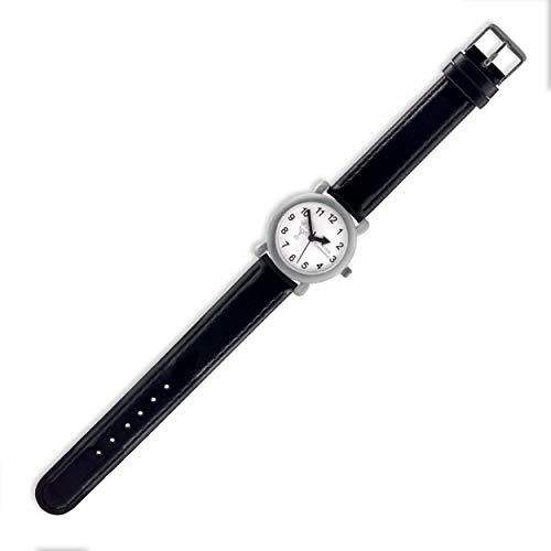 Aeon - Reloj de regalo para niños de primera comunión (21 x 2,8 cm), color negro