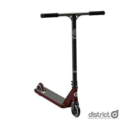 District Coedie Donovan C50R Complete Pro - Patinete, color rojo y negro