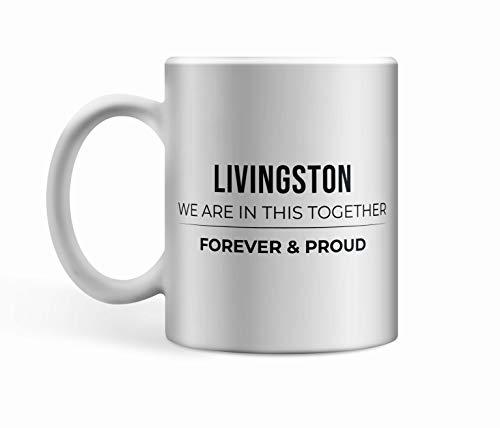 Livingston FC Ceramic Proud Mug/Cup