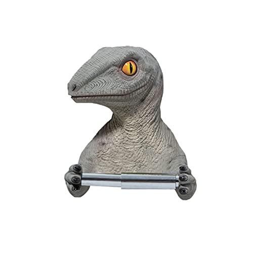 Diseño Creativo Dinosaurio Creativo Papel Higiénico Papel Papel Almacenamiento De Baño Papel Higiénico Papel Higiénico Toalla Soportes Rack Rodillo Barril Punzonado Caja De Pañuelo Soporte para Toalla