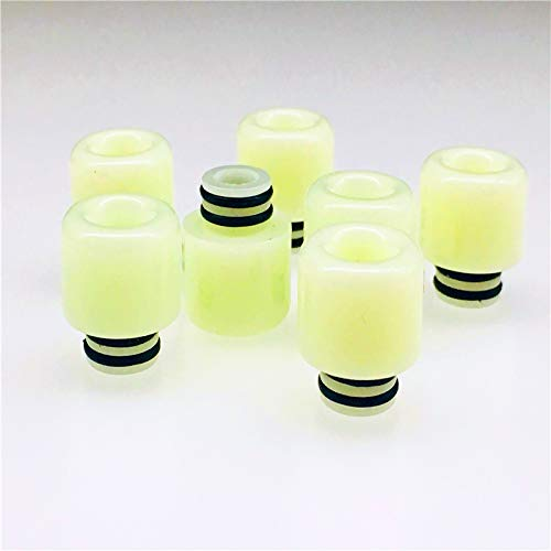 GFV Replacement Resin 510 Nightlight Drip Tip for Mod Machine -2Pcs