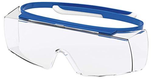 Uvex Super OTG veiligheidsbril krasbestendig, chemicaliënbestendig