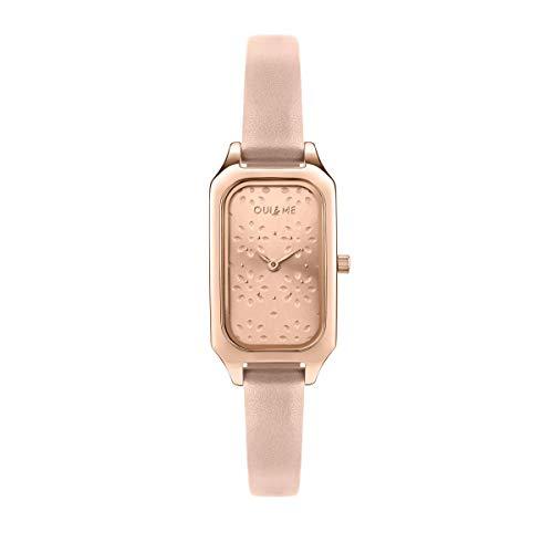 Oui & Me Reloj Analógico para Mujer de Cuarzo con Correa en Cuero ME010162
