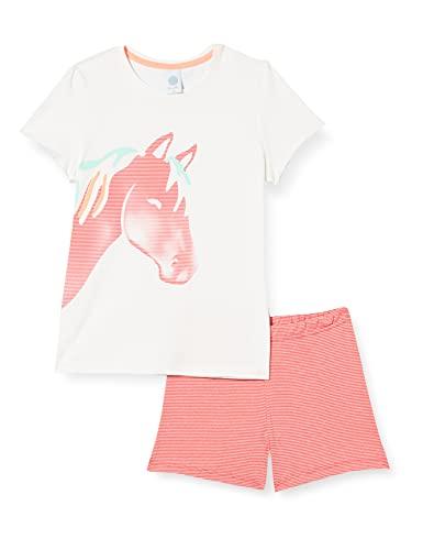Sanetta Schlafanzug Kurz Beige Juego de Pijama para Niñas