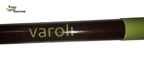 Vara aceituna de fibra VAROLI 3 metros de longitud. Más equilibrada y ergonómica: Menos esfuerzo en su uso.