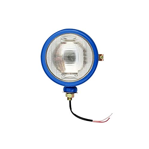Bajato Light Blue Headlight (RH) with Bulb for Ford Tractor 2000 3000 4000 5000 7000