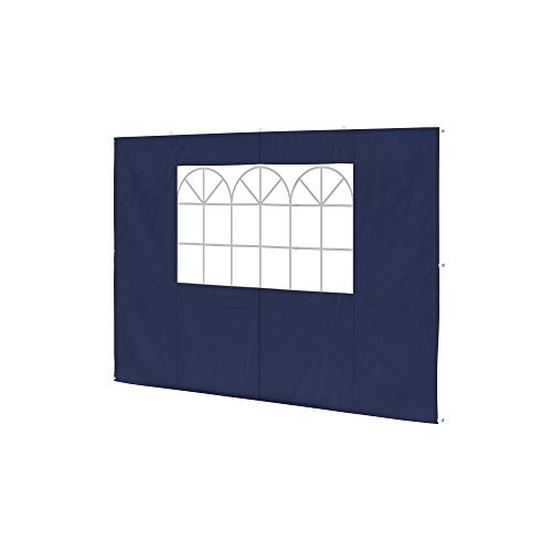 paramondo Parete Laterale Finestra per Gazebo Pieghevole Basic o Premium, Blu