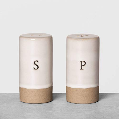 Salt & Pepper Shakers - Hearth & Hand with Magnolia (Cream)