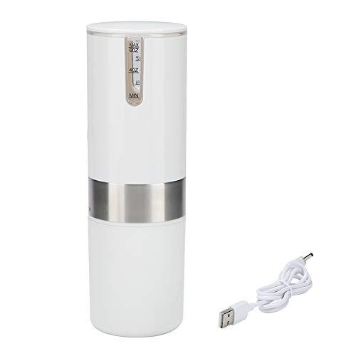 Cafeteras, Cafetera espresso portátil totalmente automática Máquina de café con cápsula USB de un botón para acampar Oficina de viajes Inicio