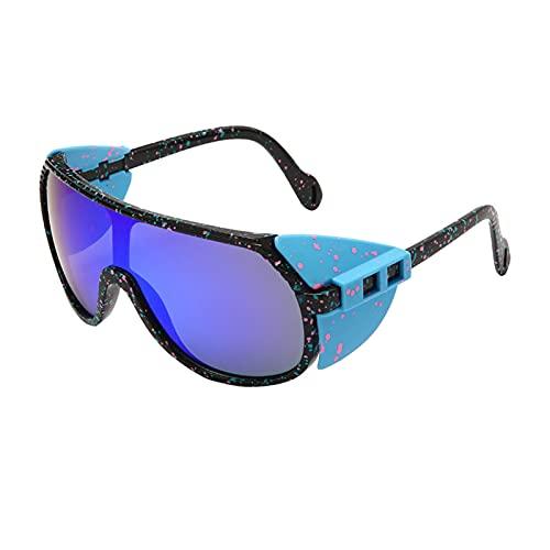 JLJLJL Gafas de Sol fotocrómicas para Hombres, Gafas de Sol de Ciclismo Gafas de Bicicletas Deportivas Gafas UV 400 Protección Ciclismo Conducción Corriendo Motociclismo C5