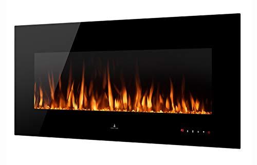 Noble Flame Vegas 1220 - Chimenea eléctrica de pared, estufa de chimenea,...