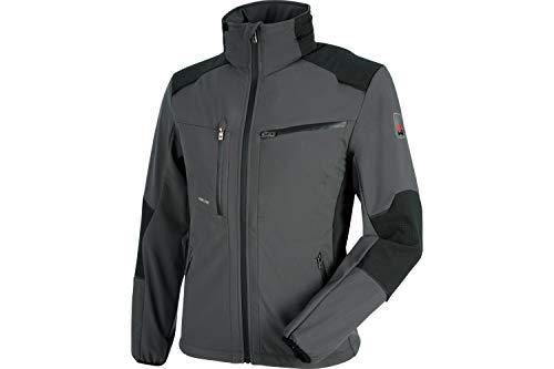 WÜRTH MODYF One Softshelljacke: Die Winddichte und Wasserabweisende Jacke für alle Profi-Handwerker ist in XL & anthrazit verfügbar.