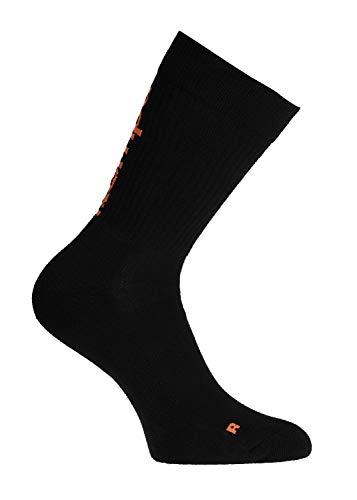 Kempa Herren Laganda Socken, schwarz, 31-35